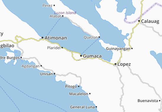 Gumaca Map