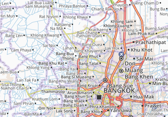 Carte-Plan Bang Bua Thong