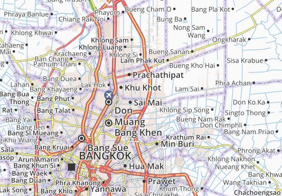 Lat Sawai Map
