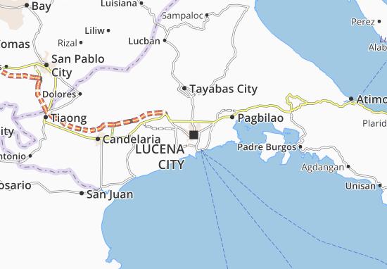 Lucena City Map
