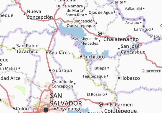 Suchitoto Map