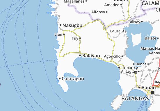 Mapas-Planos Balayan