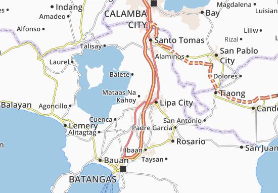 Mataas Na Kahoy Map