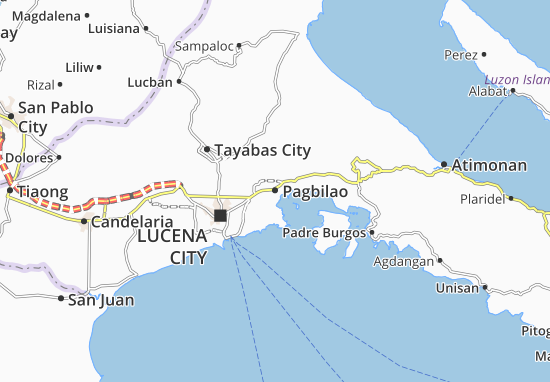 Pagbilao Map