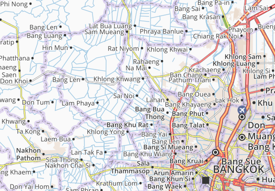 Sai Noi Map