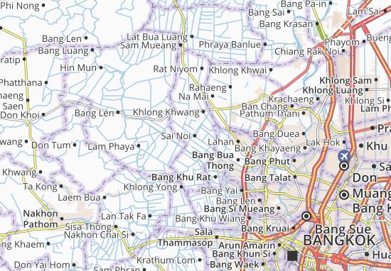 Kaart Plattegrond Sai Noi