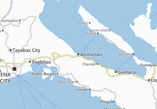 Mappe-Piantine Atimonan