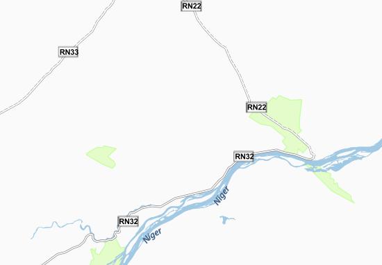 Mapa Plano Boki-Were