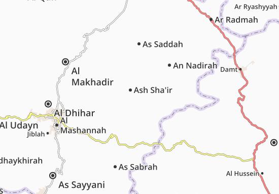Ash Sha'ir Map