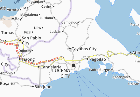 Tayabas City Map