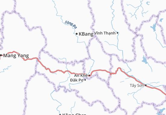 Carte-Plan Kông Bơ La