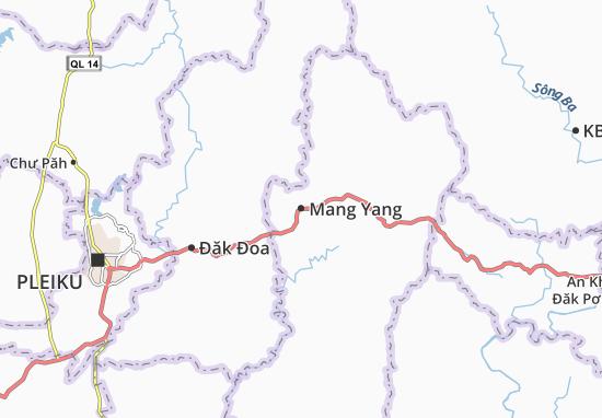 Carte-Plan Mang Yang