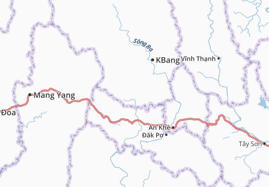 Carte-Plan Kông Lơng Khơng