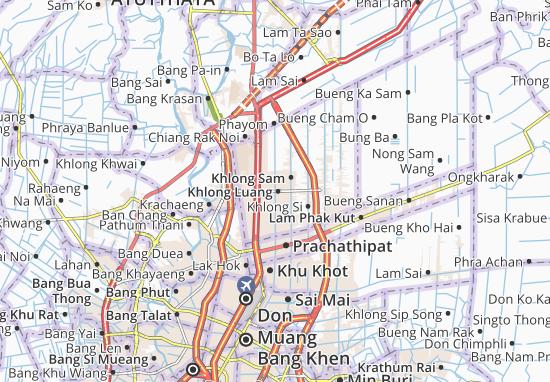 Carte-Plan Khlong Luang