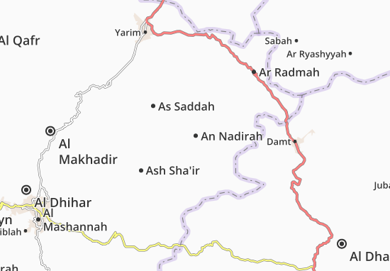 An Nadirah Map