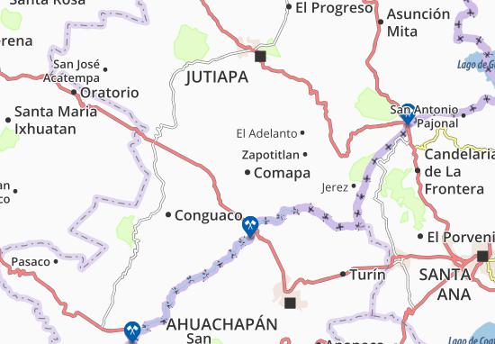 Comapa Map