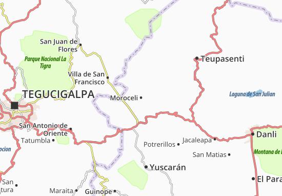Mapa Plano Moroceli