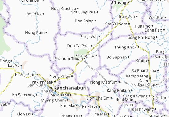 Mapas-Planos Phanom Thuan