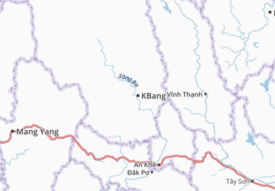Carte-Plan KBang