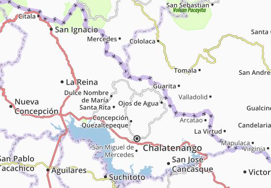 La Laguna Map