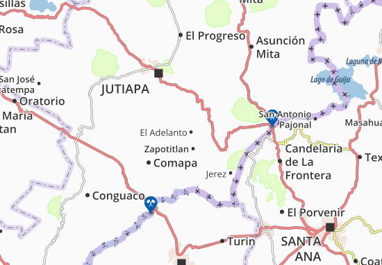 Carte-Plan El Adelanto