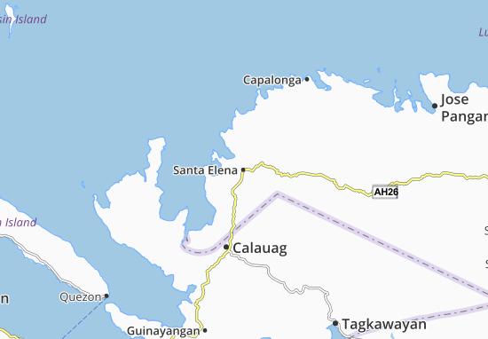 Santa Elena Map