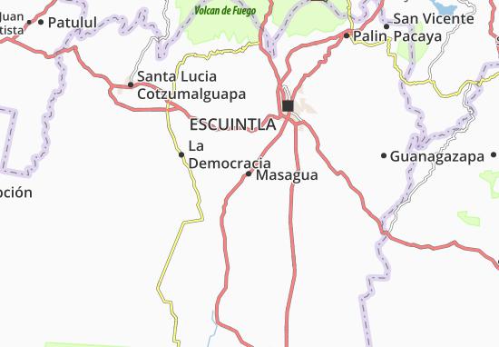 Masagua Map