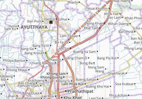 Wang Noi Map
