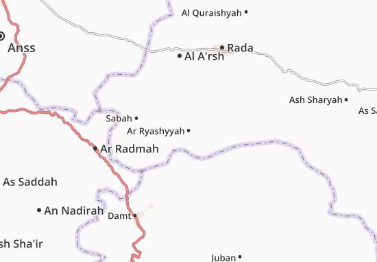 Kaart Plattegrond Ar Ryashyyah
