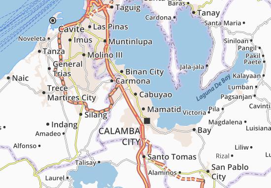 Cabuyao Map