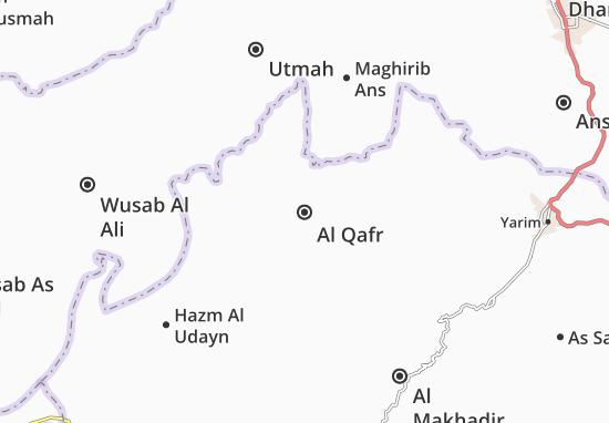 Carte-Plan Al Qafr