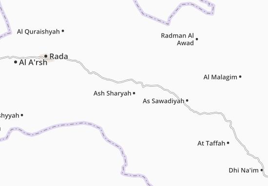 Ash Sharyah Map