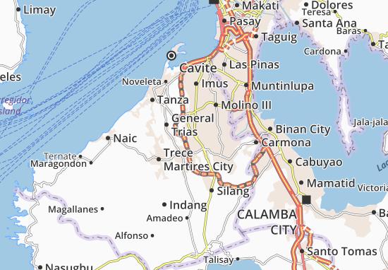 Carte-Plan Dasmarinas