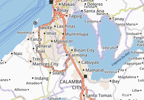Mapas-Planos Binan City