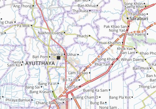Uthai Map