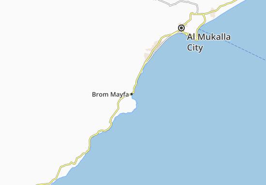 Kaart Plattegrond Brom Mayfa