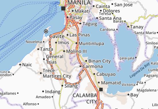 Mappe-Piantine San Pedro
