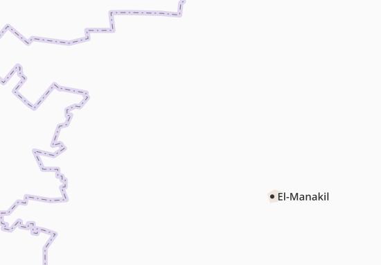 Carte-Plan Wad-El-Mansi