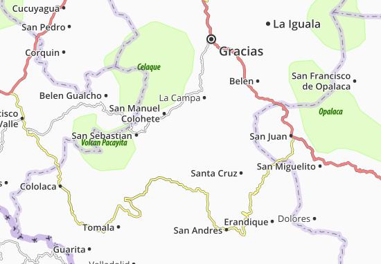 San Marcos de Caiquin Map