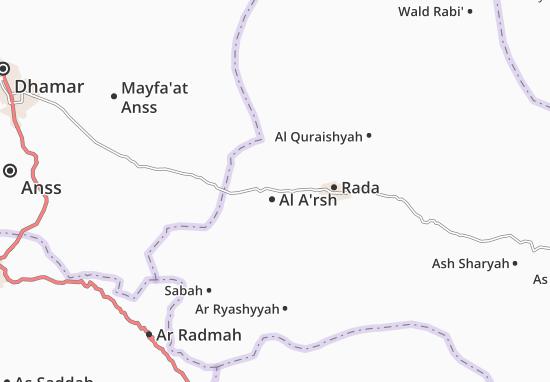 Carte-Plan Al A'rsh