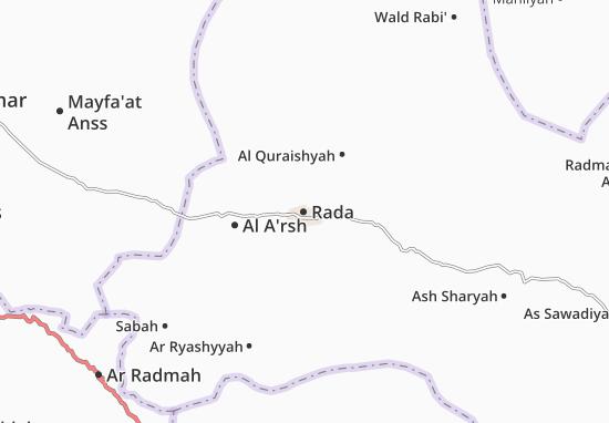 Rada Map