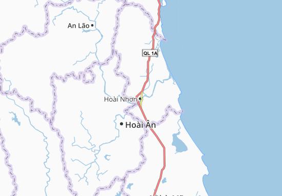 Hoài Nhơn Map