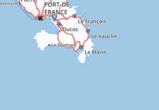 Sainte-Anne Map