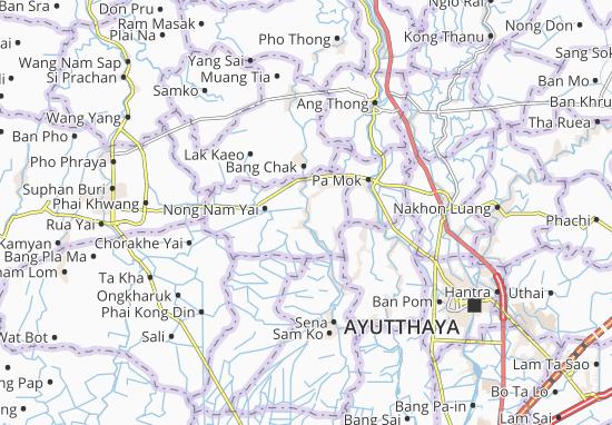 Carte-Plan Phak Hai