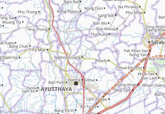 Nakhon Luang Map