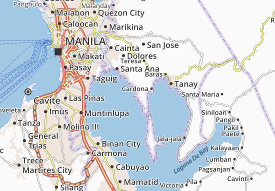 Mapas-Planos Binangonan