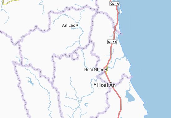 Kaart Plattegrond Ân Hảo Đông