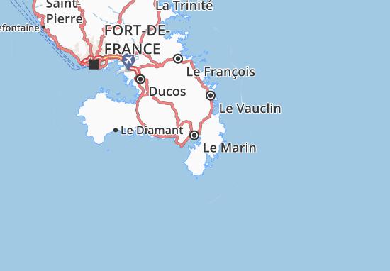 Le Marin Map