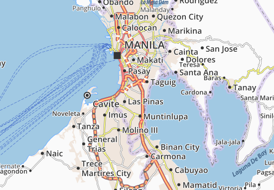 Parañaque Map