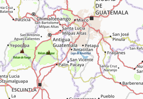 Mapas-Planos Amatitlan